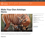 Make your own Antelope Horns!