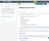 I-DEA Fall Course Package