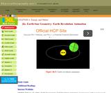 Earth-Sun Geometry - Earth Revolution Animation