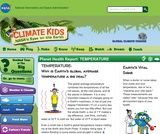 Climate Kids: Planet Health Report: Temperature