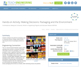 Making Decisions: Packaging and the Environment