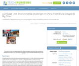 Environmental Challenges in China: From Rural Villages to Big Cities