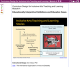 Curriculum Design for Inclusive Arts Teaching and Learning (Part 4): Educationally Interpretive Exhibitions and Educative Cases