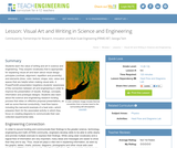 Visual Art and Writing in Science and Engineering