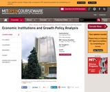 Economic Institutions and Growth Policy Analysis, Fall 2005