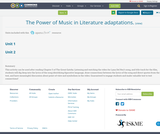 The Power of Music in Literature adaptations.