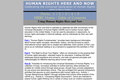 Human Rights Here and Now: Celebrating the Universal Declaration of Human Rights