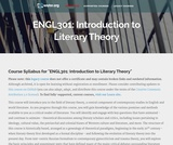 Introduction to Literary Theory