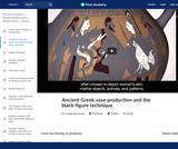Ancient Greek vase production and the black-figure technique