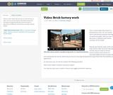 Video: Brick factory work