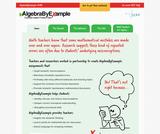 AlgebraByExample