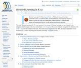 Blended Learning in K-12
