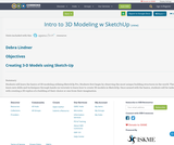 Intro to 3D Modeling w SketchUp