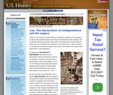 13a. The Declaration of Independence and Its Legacy