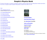 The People's Physics Book