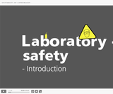 Laboratory safety for students - 9 interactive video-quizzes