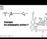 OER-UCLouvain: Développement professionnel des enseignants en pédagogie active en milieu scientifique