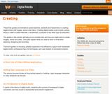 JISC - Digital Media - Creating