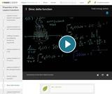 Differential Equations: Dirac Delta Function