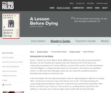 A Lesson Before Dying by Ernest J. Gaines - Reader's Guide