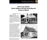 Life on an Island: Early Settlers Off the Rock-Bound Coast of Maine
