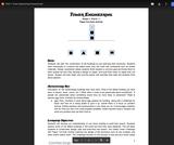 Tower Engineering (PreK - 1st Grade) Five Lesson Unit