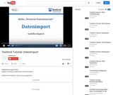 TextGrid-Tutorial: Datenimport
