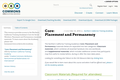 Core 2.5: Placement and Permanency