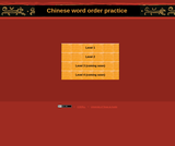 Chinese Word Order Exercises