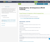 Project Runway - Art Integration in World Language