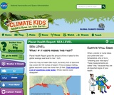 Climate Kids: Planet Health Report: Sea Level