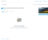 Early Learning Climate Science (Pre K-K) Canvas Commons