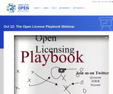 The Open License Playbook Webinar