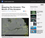 Mapping the Amazon: The Mouth of the Amazon