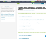 Child and Family Teaming (CFT) Philosophy and Practices Across the Broader Department of Social Services