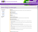Bean Bag Challenges