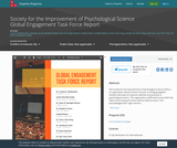 Society for the Improvement of Psychological Science Global Engagement Task Force Report