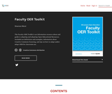 Faculty OER Toolkit – Open Textbook