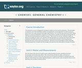 General Chemistry I