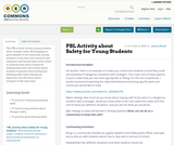 PBL Activity about Safety for Young Students