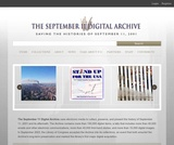The September 11 Digital Archive