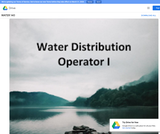 Water Distribution Operator I