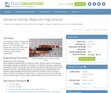 Sliders (for High School)