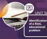 Identification of a REAL educational problem