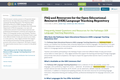FAQ and Resources for the Open Educational Resource (OER) Language Teaching Repository