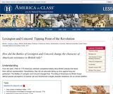 Lexington and Concord: Tipping Point of the Revolution