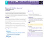 CS Principles 2019-2020 1.4: Number Systems