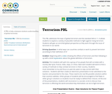 Terrorism PBL