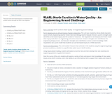 SLASL: North Carolina's Water Quality - An Engineering Grand Challenge