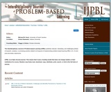 The Interdisciplinary Journal of Problem-based Learning